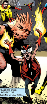 Firebug (Earth-18) from Miracleman Vol 1 1 001