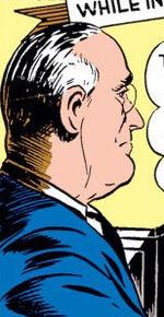 Franklin Delano Roosevelt (Earth-616) from Captain America Comics Vol 1 1 001