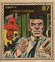 J. Jonah Jameson Marvel Value Stamp