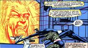 Mad Thinker (Earth-616) controlling the security computer at Four Freedoms Plaza