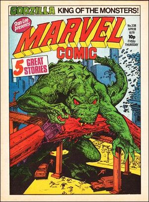 Marvel Comic Vol 1 338