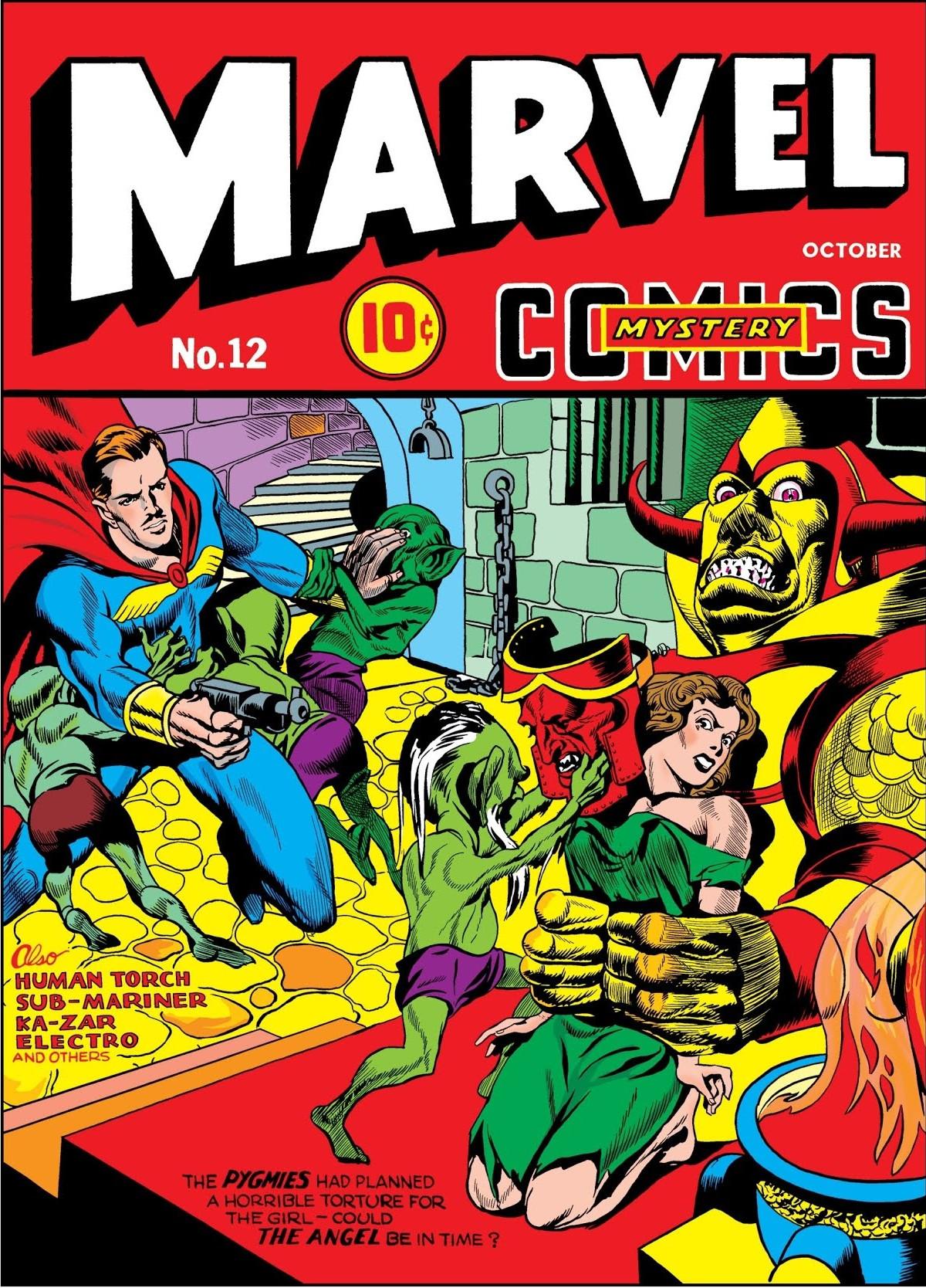Marvel Mystery Comics Vol 1 12