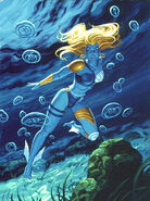 Namorita Prentiss (Earth-616) from 1994 Marvel Masterpieces (Trading Cards) 0001