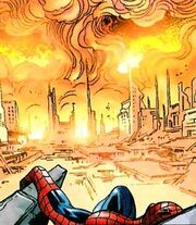 Peter Parker (Earth-9200) from Exiles Vol 1 79 001