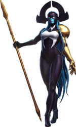 Proxima Midnight (Earth-TRN765) from Marvel Ultimate Alliance 3 The Black Order 003