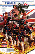 Revolutionary War Supersoldiers Vol 1 1