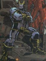 Thanos (Earth-22666) from Marvel Universe 2001 Millennial Visions Vol 1 1 001