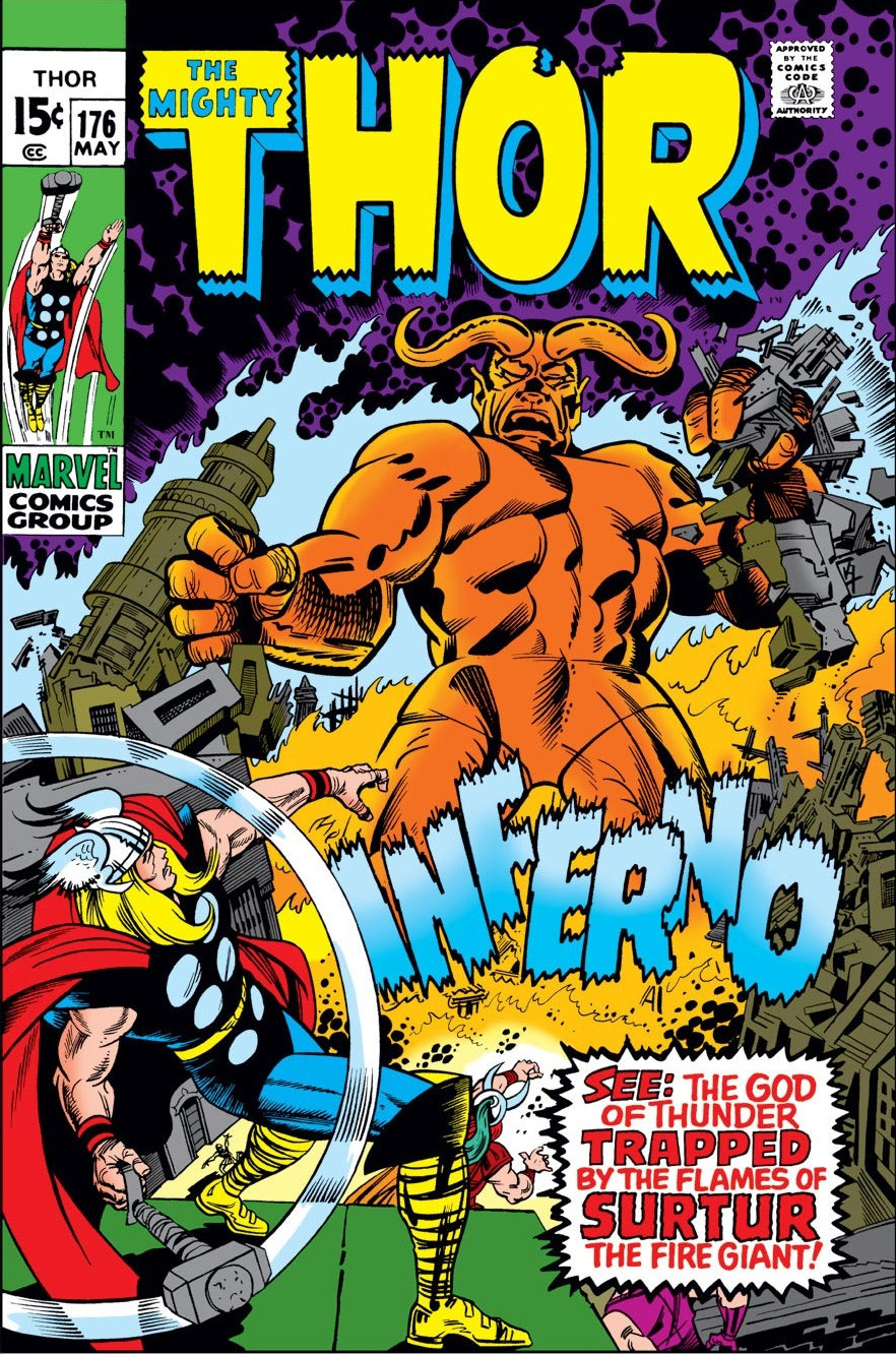 Thor Vol 1 176 | Marvel Database | FANDOM powered by Wikia