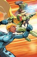 Avengers A.I. Vol 1 9 Nakayama Variant Textless