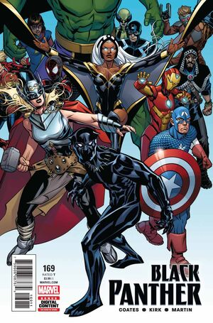 Black Panther Vol 1 169