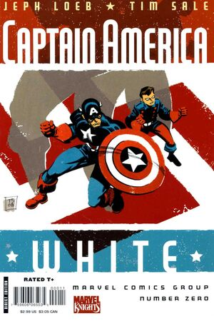 Captain America White Vol 1 0