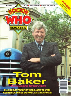 Doctor Who Magazine Vol 1 179