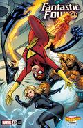 Fantastic Four Vol 6 20 Spider-Woman Variant