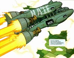 H.A.T.E. Aeromarine from Nextwave Vol 1 1 001