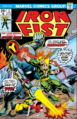 Iron Fist Vol 1 3