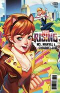 Marvel Rising Ms. Marvel Squirrel Girl Vol 1 1 Gonzales Connecting Variant
