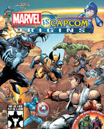 Marvel vs Capcom Origins - Key Art