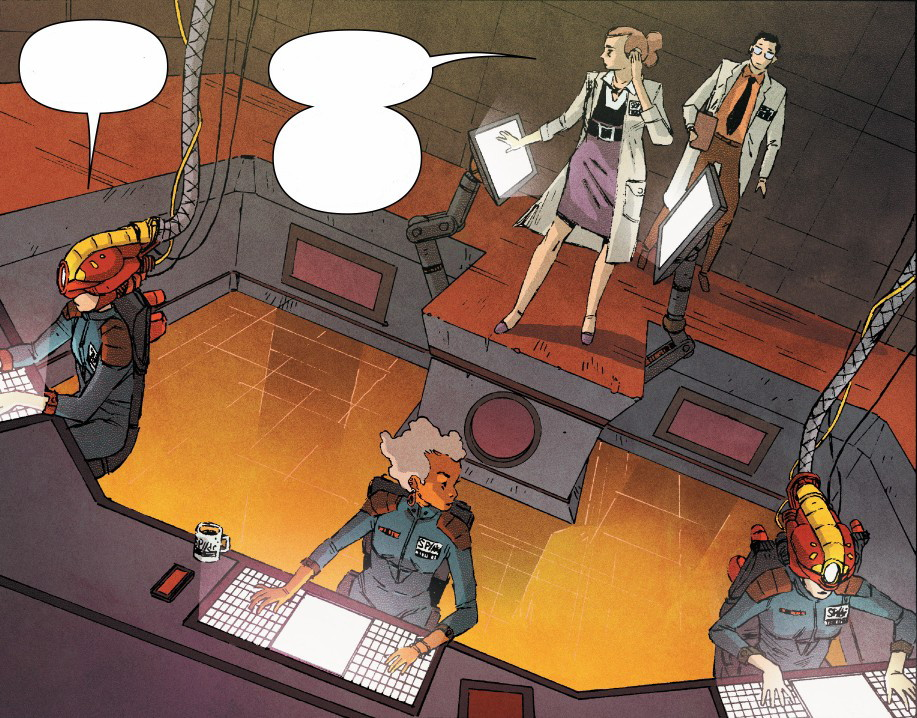 Oscorp (Earth-14512) from Edge of Spider-Verse Vol 1 5 001. Oscorp (Earth- 14512) from Edge of Spider-Verse Vol 1 5 001