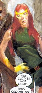 Philip Sheldon (Earth-9591), Jean Grey (Earth-9591), and Nicholas Fury (Earth-9591) from Ruins Vol 1 1 0004