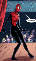 Spider-Girl (Earth-TRN454) from Ultimate Spider-Man Infinite Comic Vol 2 9