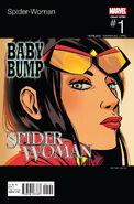 Spider-Woman Vol 6 1 Hip-Hop Variant
