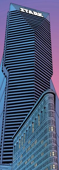 Stark Tower (Flatiron District) from Iron Man Vol 3 1 001