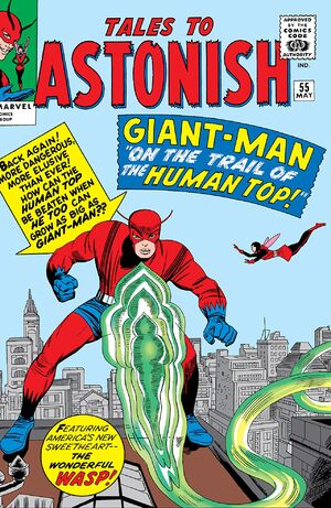 Tales to Astonish Vol 1 55