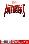 Uncanny Avengers Vol 1 1 Blank Variant