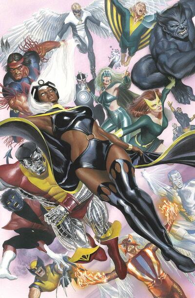 Uncanny X-Men Vol 3 29 Ross Variant Textless