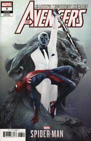 Avengers Vol 8 7 Marvel's Spider-Man Video Game Variant
