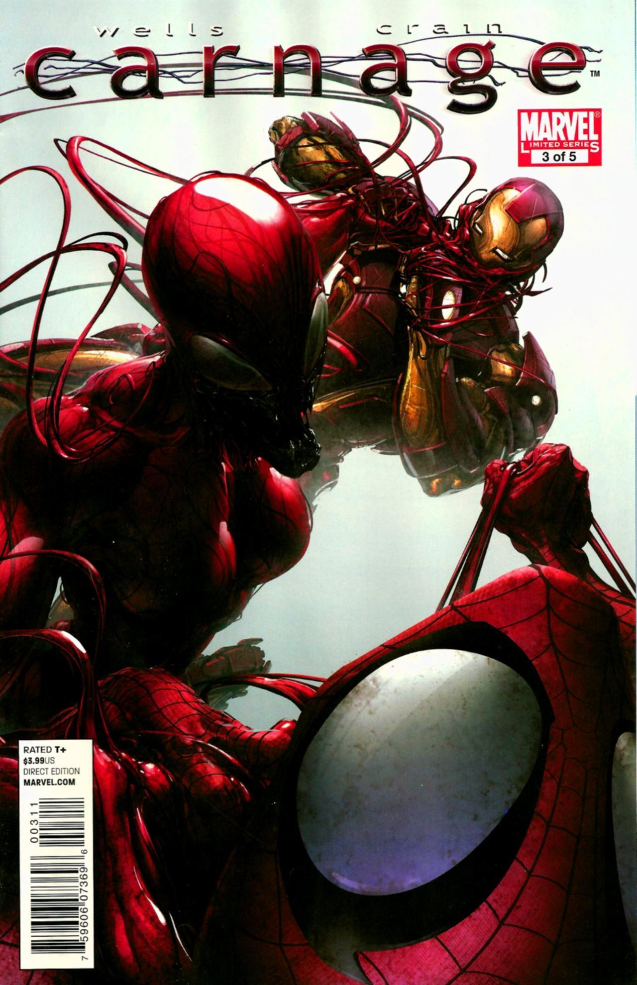 Carnage Vol 1 3 | Marvel Database | FANDOM powered by Wikia