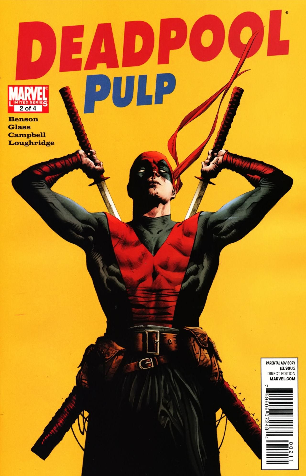 Deadpool Pulp Vol 1 2