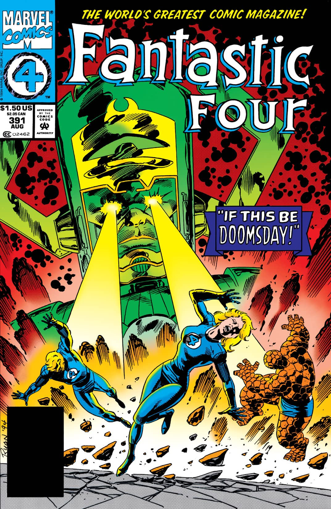 Fantastic Four Vol 1 391