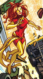 Jean Grey (Earth-21101) from Shame Itself Vol 1 1 0001