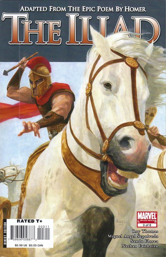 Marvel Illustrated The Iliad Vol 1 3