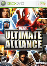 Marvel Ultimate Alliance Cover