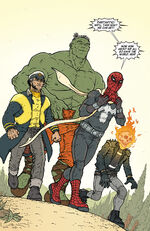 New Fantastic Four (Earth-62412) from What If? Age of Ultron Vol 1 2 001