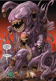 Ra-Venn (Earth-616) and other Kree Mutated and Merged from Realm of Kings Inhumans Vol 1 5 0001
