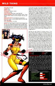 Rina Logan (Earth-982) from All-New Official Handbook of the Marvel Universe A to Z Vol 1 12 002