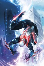 Spider-Man 2099 Vol 3 1 Textless