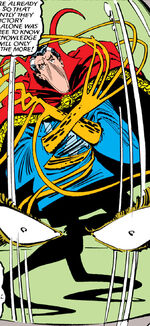 Stephen Strange (Earth-8591) from Uncanny X-Men Vol 1 190 0001