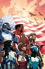 U.S.Avengers Vol 1 3 Siqueira Variant Textless