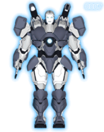 War Machine Armor (Earth-904913) from Iron Man Armored Adventures 0001