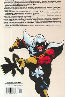 File:Wolverine & Nick Fury Scorpio Rising Vol 1 1 Back.jpg