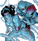 Cindy Moon (Earth-616) and Peter Parker (Earth-616) from Amazing Spider-Man Vol 3 6 003