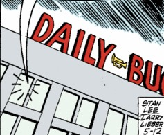 Daily Bugle (Earth-77013) Spider-Man Newspaper Strips