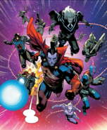Dark Guardians (Earth-616) from Guardians of the Galaxy Vol 5 4 001