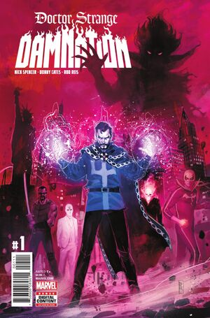 Doctor Strange Damnation Vol 1 1
