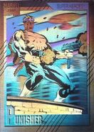 Frank Castle (Earth-616) from Marvel Universe Cards Series II Hologram 0001