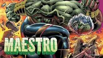 MAESTRO 1 Trailer Marvel Comics